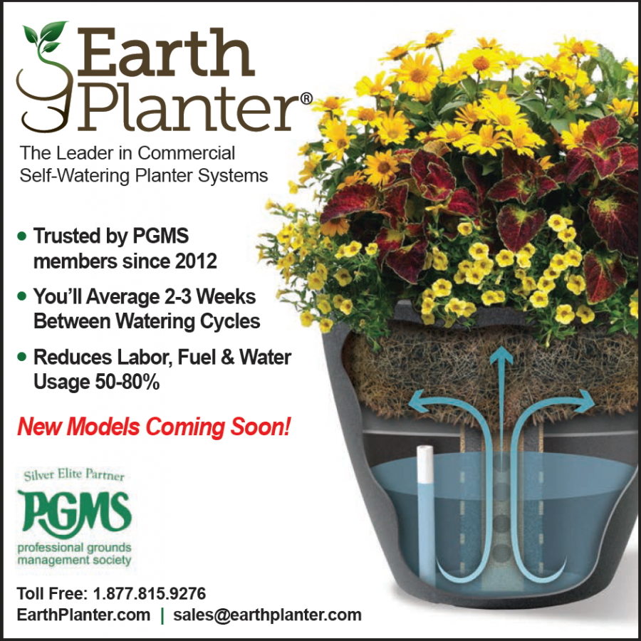 Commercial Planters EarthPlanter PGMS Partner