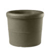 Deep Bronze Commercial Planter Medium Rolled Rim